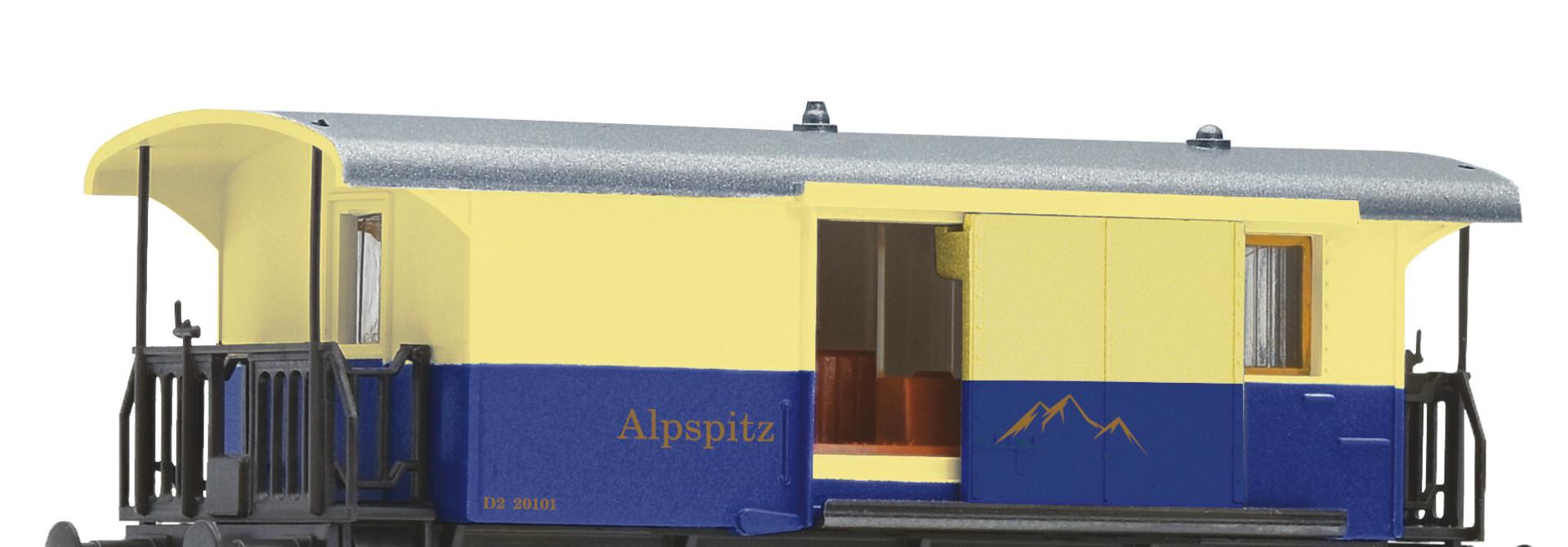 805402 Gepäckwagen Zahnradbahn