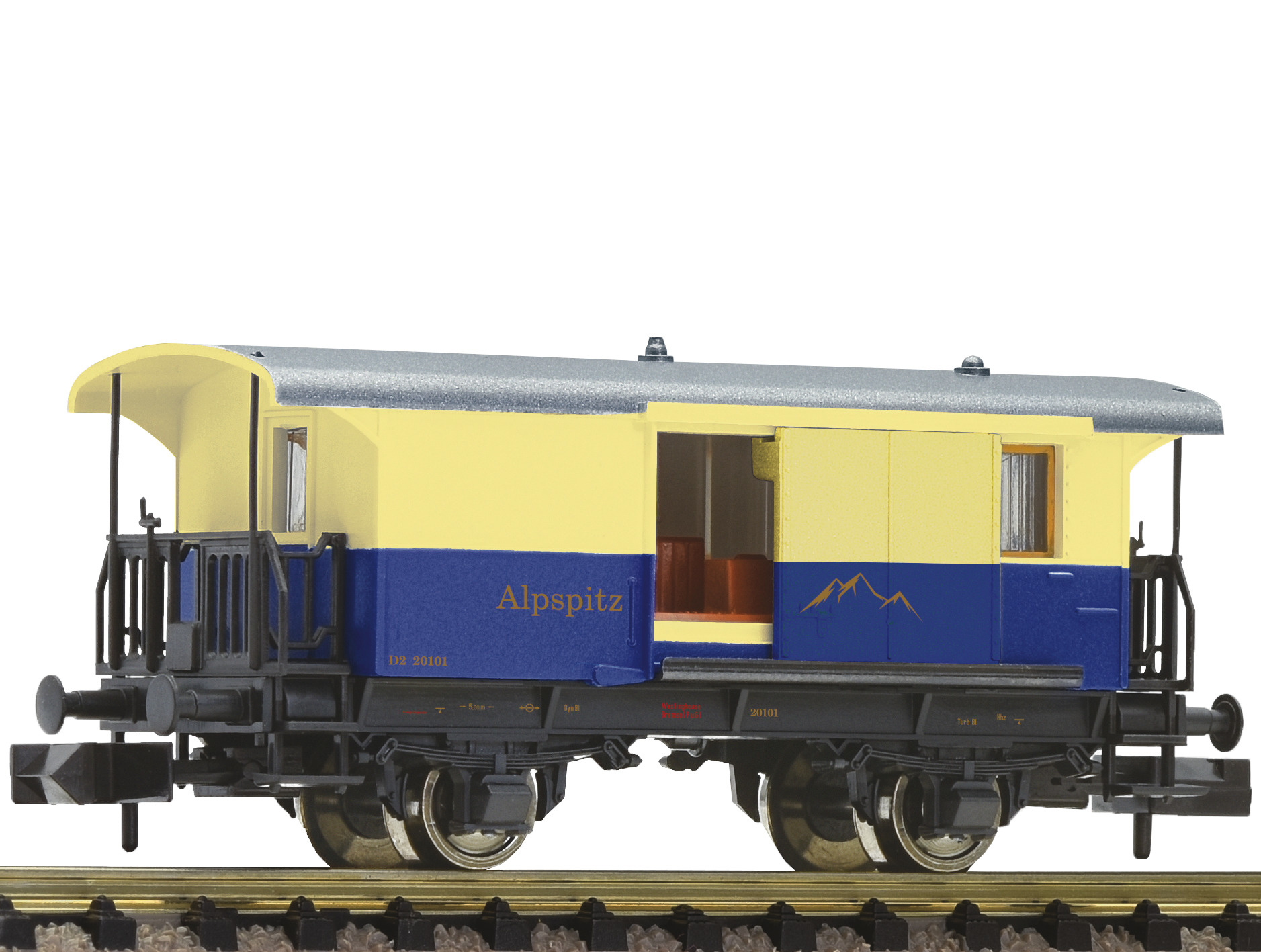 805402 Gepäckwagen Zahnradbahn-1