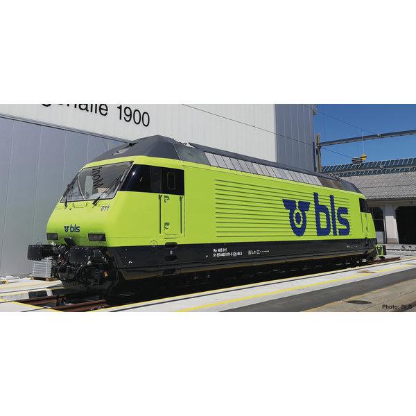 Fleischmann 731391 E-Lok Re 465 BLS SND. grün