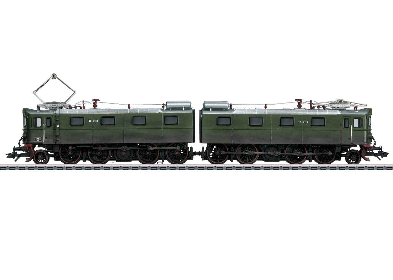 37759 NSB Schwere Erzlokomotive Reihe El 12-1