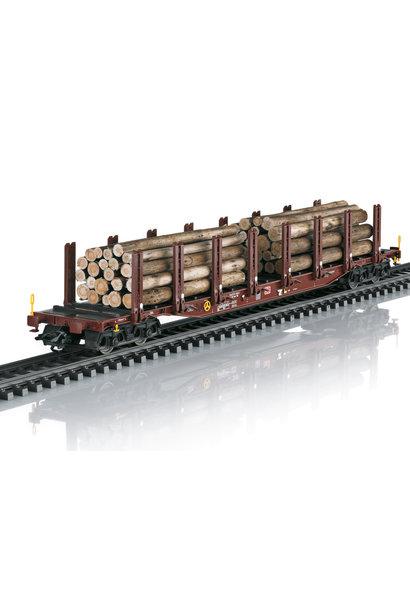 24146 Rungenwagen-Set Holztransport