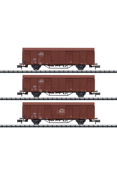 18902 Güterwagen-Set Expressgut DR