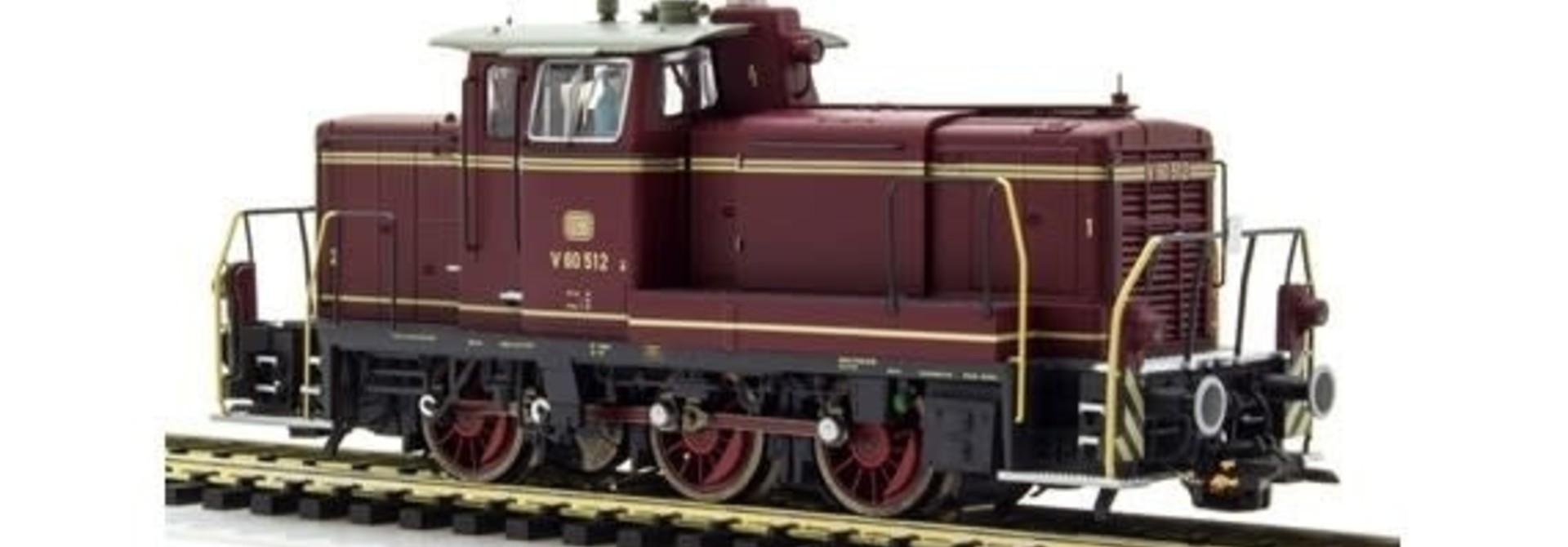31410 diesellocomotief V60 van de DB AC/DC sound+rook