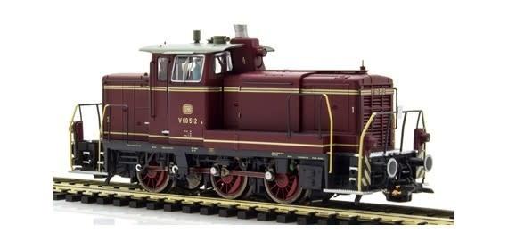31410 diesellocomotief V60 van de DB AC/DC sound+rook-1