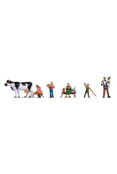 15609 Bauernfamilie