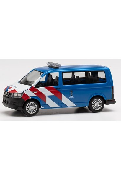 VW T6 Marechausse nieuwe striping (NL)