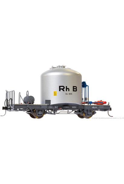 """RhB Uce 8015 Zementsilowagen """"RhB"""" mit Verrohrung"""