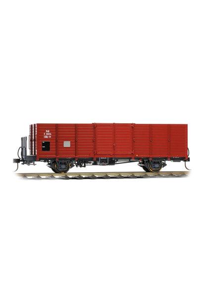 9451104 RhB E 6604 Holzwand-Hochbordwagen dunkelbraun
