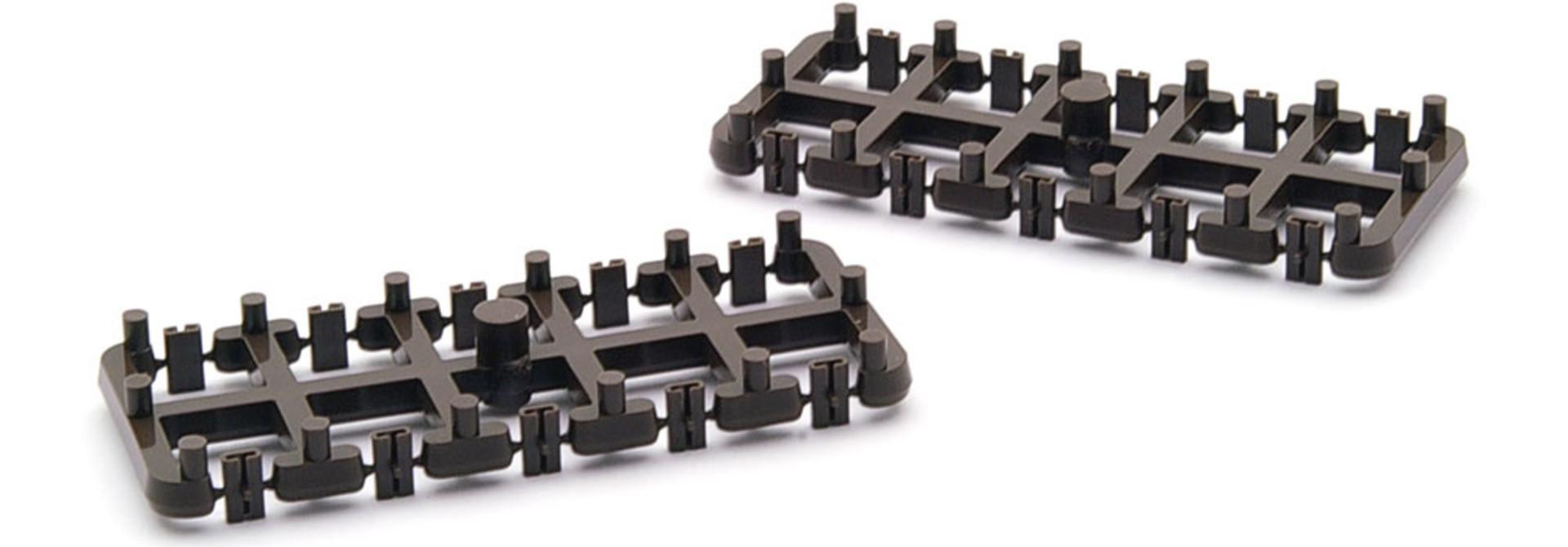 4288000 H0m Isolier-Schienenverbinder, 20 Stück