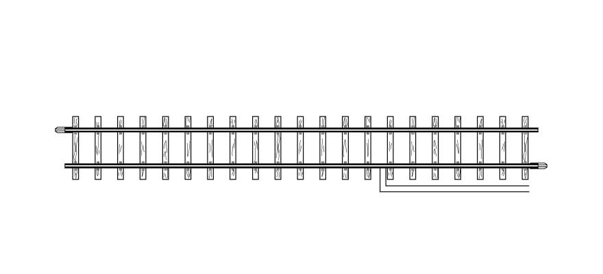 4283000 H0m Anschlußgleis, 162,3 mm-1