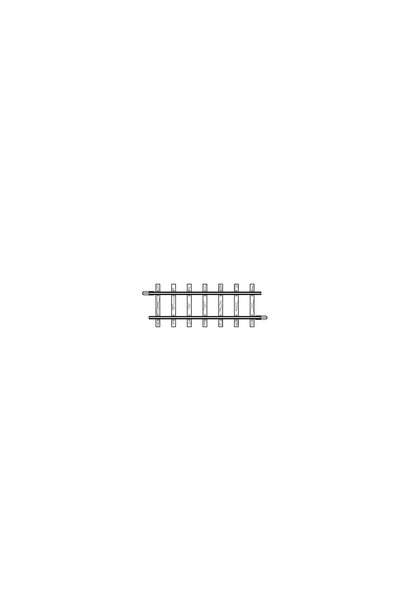 4282000 H0m gerades Gleis, 56,5 mm, VPE 10 Stck.