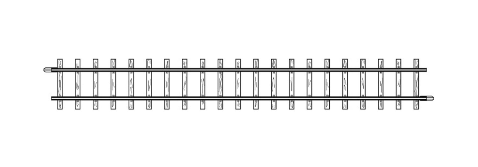 4281000 H0m gerades Gleis, 162,3 mm, VPE 10 Stck.