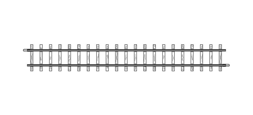 4281000 H0m gerades Gleis, 162,3 mm, VPE 10 Stck.-1