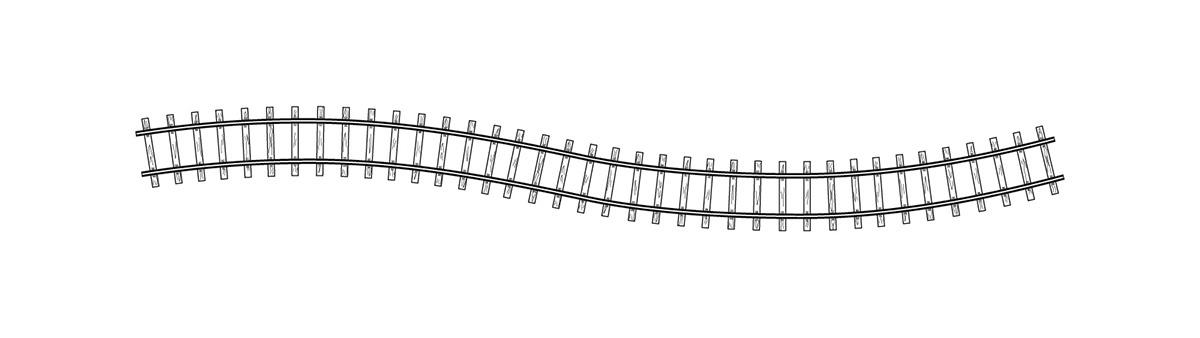 4280000 H0m Flexgleis 1000 mm, VPE 20 Stck.-1