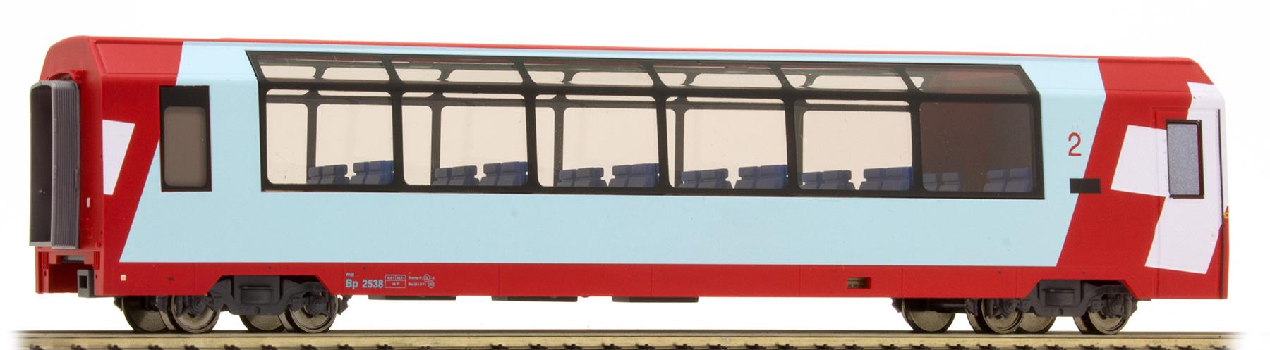 "3689128 RhB Bp 2538 ""Glacier Express"" H0 2L-GS-1"