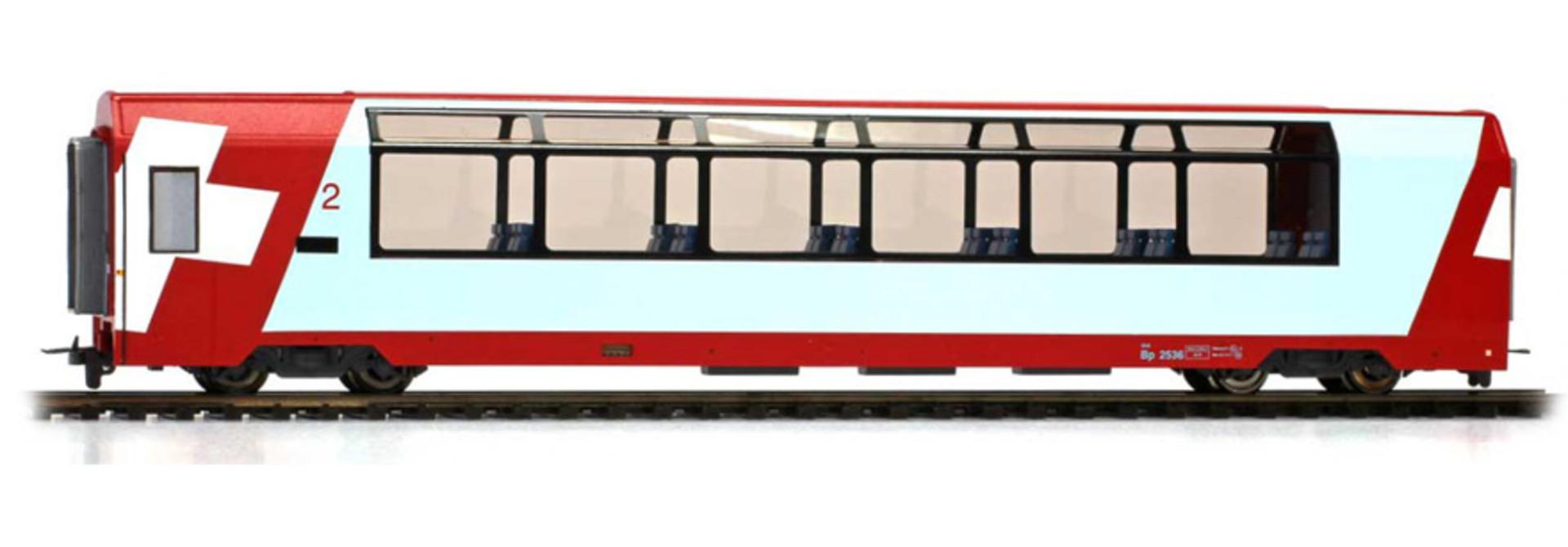 "3689127 RhB Bp 2537 ""Glacier Express"" H0 2L-GS"