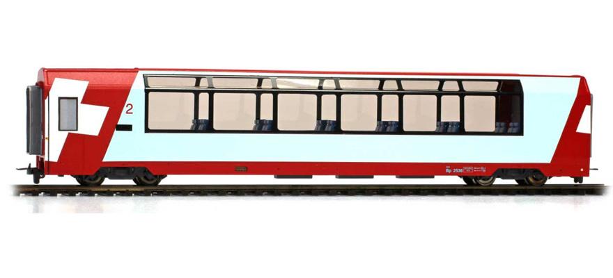 "3689127 RhB Bp 2537 ""Glacier Express"" H0 2L-GS-1"