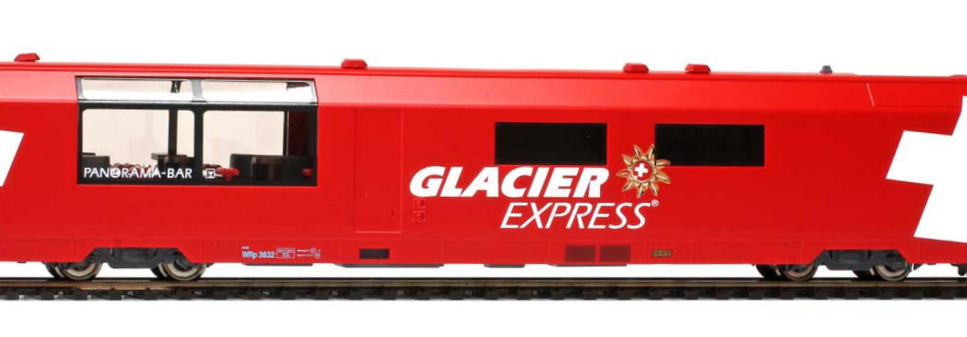 "3589132 RhB WRp 3832 ""Glacier Express"" H0 3L-WS"