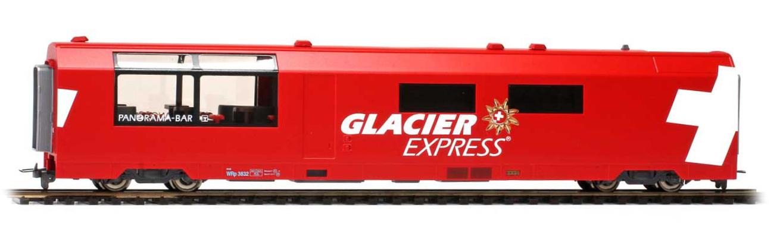 "3589132 RhB WRp 3832 ""Glacier Express"" H0 3L-WS-1"