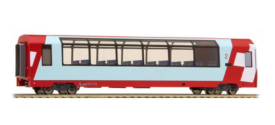 """3589128 RhB Bp 2538 """"Glacier Express"""" H0 3L-WS-1"""