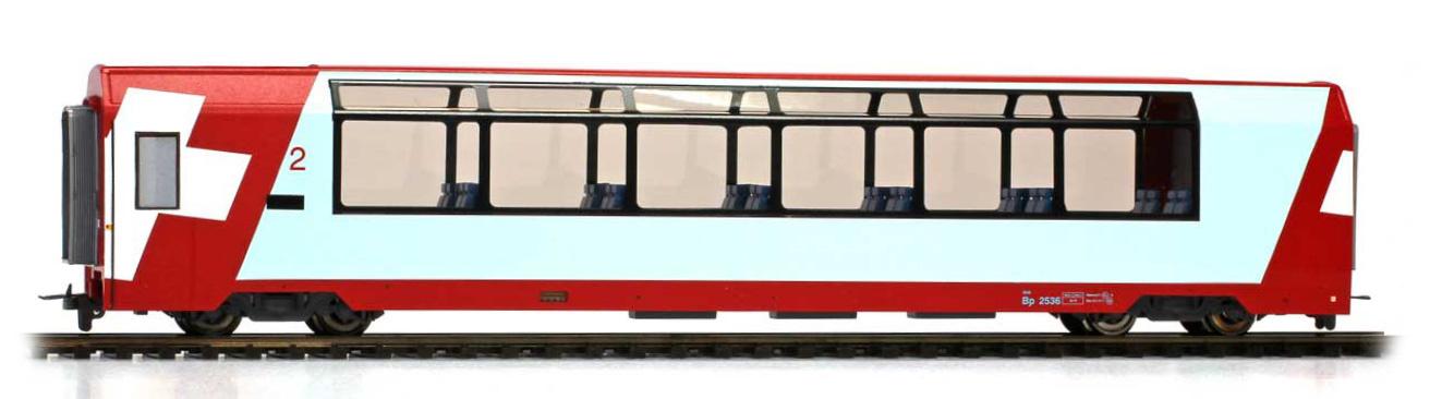"""3589127 RhB Bp 2537 """"Glacier Express"""" H0 3L-WS-1"""