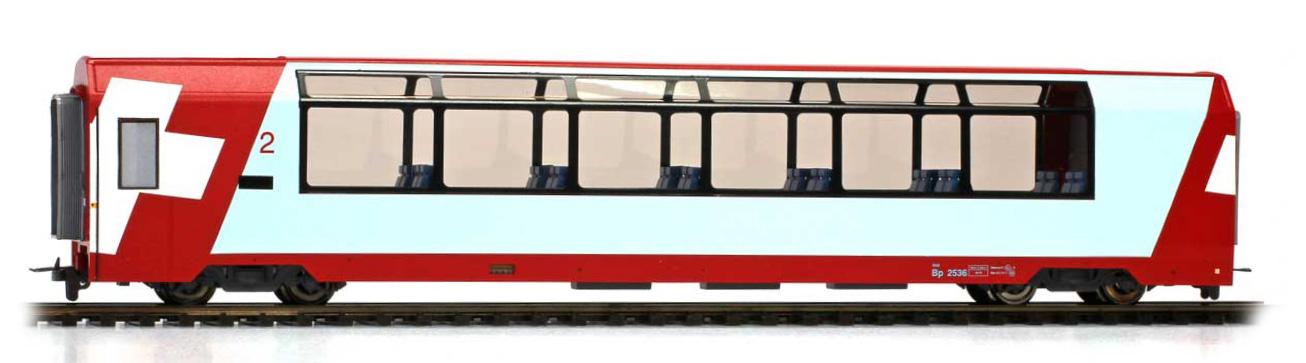 """3589126 RhB Bp 2536 """"Glacier Express"""" H0 3L-WS-1"""