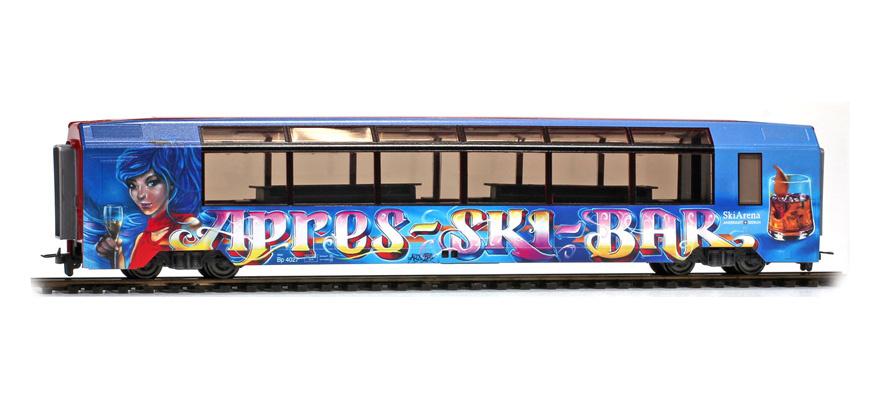 """3588297 MGB Bp 4027 """"Aprés-Ski-Bar"""" H0 Normalspur 3L-WS-1"""