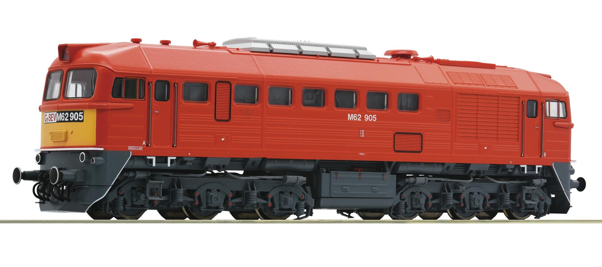 73244 zware diesellok M62 van de Gysev DCC sound-1