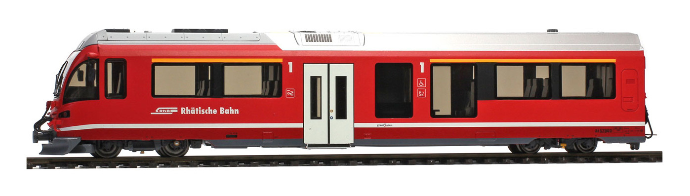 3298182 RhB At 578 01 AGZ Steuerwagen mit Innenbel.-1