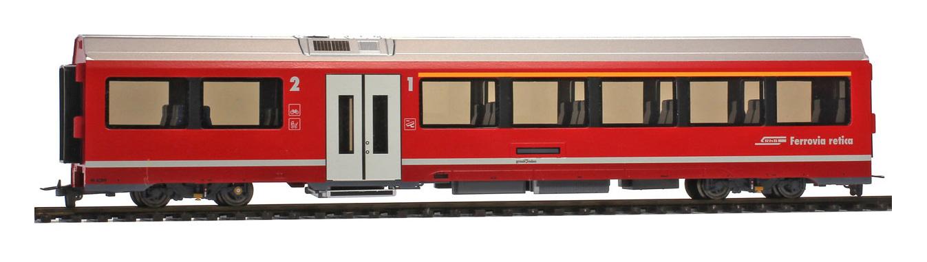 3298122 RhB AB 572 01 AGZ Mittelwagen mit Innenbeleuchtung-1