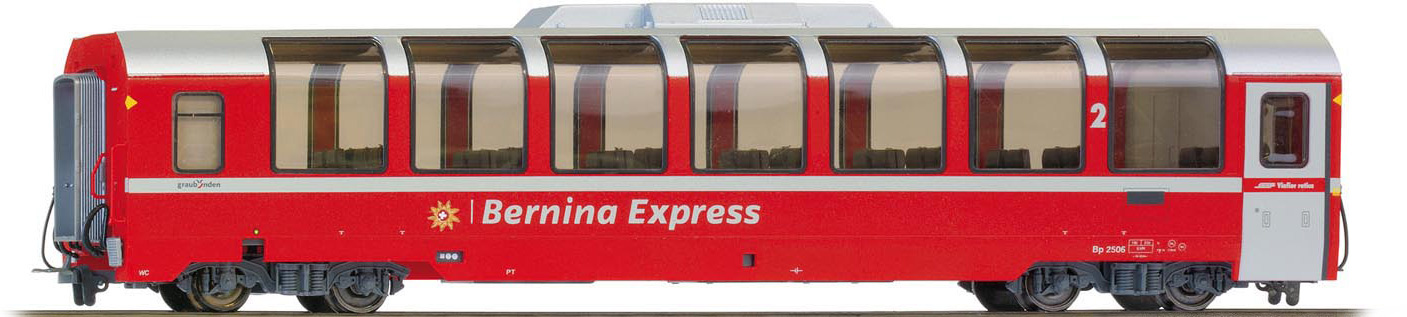 """3294146 RhB Bp 2506 Panoramawagen """"Bernina Express""""-1"""