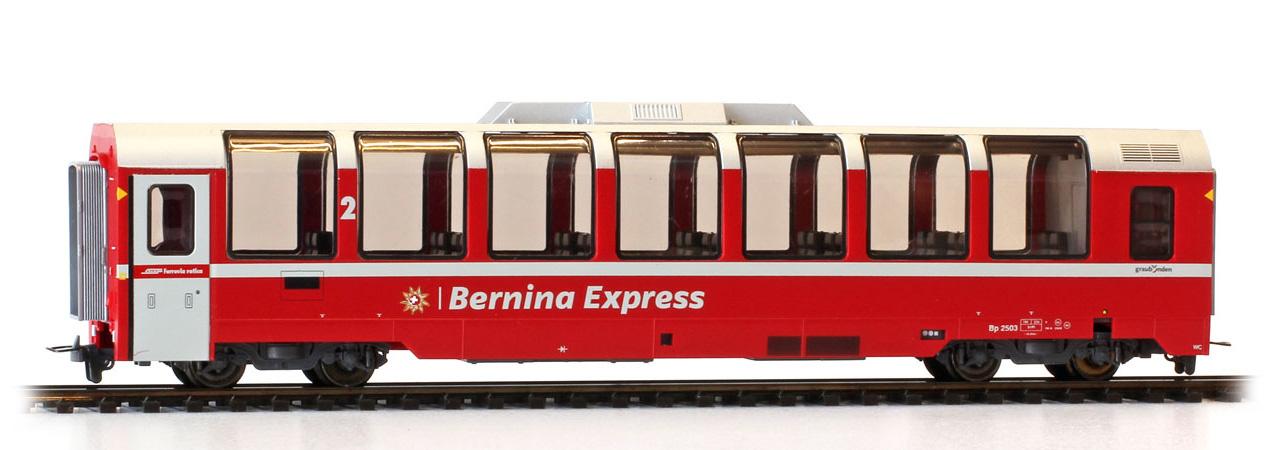 """3294143 RhB Bp 2503 Panoramawagen """"Bernina Express""""-1"""