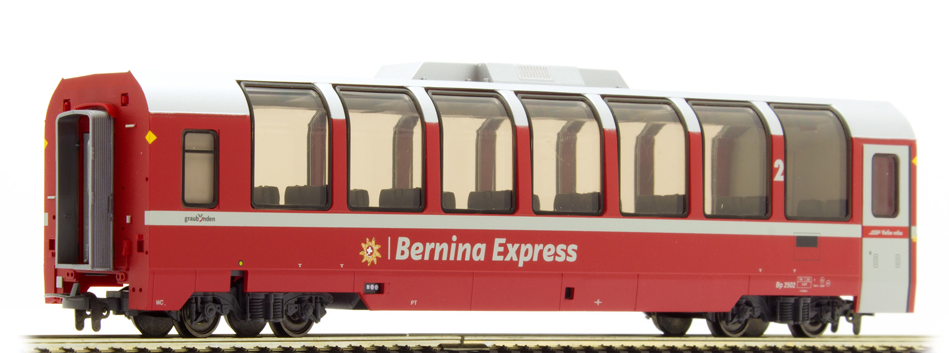 """3294142 RhB Bp 2502 Panoramawagen """"Bernina Express""""-1"""