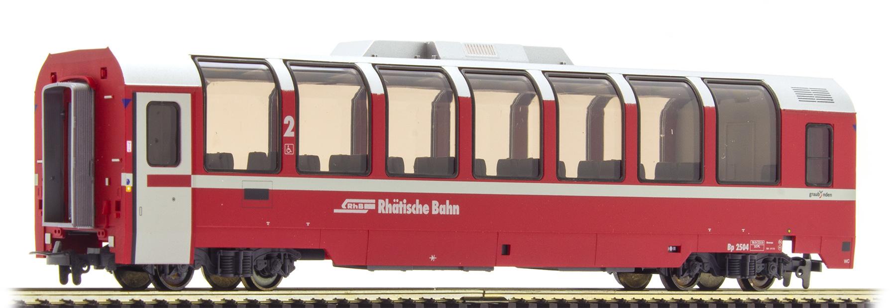 """3294134 RhB Bp 2504 Panoramawagen """"Bernina Express""""-1"""