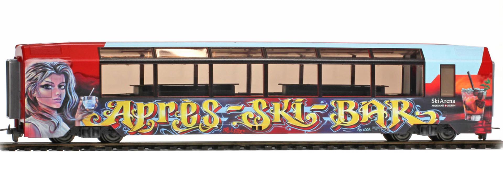 """3288298 MGB Bp 4028 """"Aprés-Ski-Bar"""" rot"""