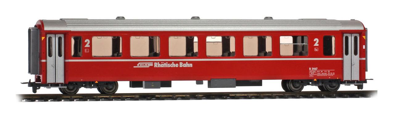 3282117 RhB B 2467 Einheitswagen III rot-1