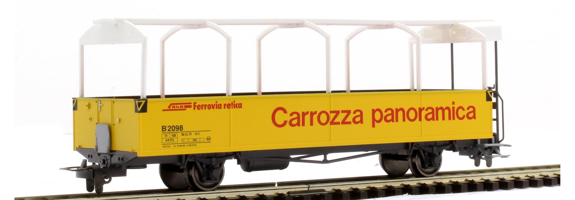 3280113 RhB B 2098 offener Aussichtswagen
