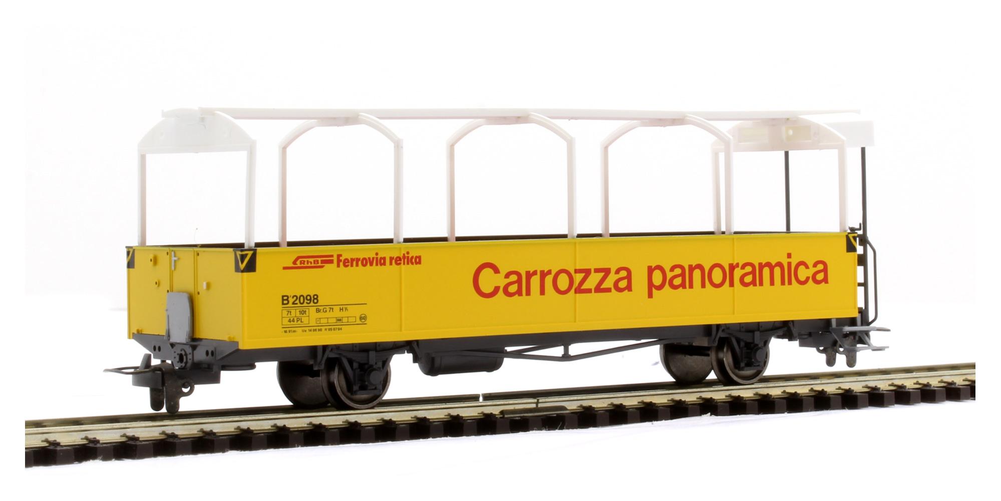 3280113 RhB B 2098 offener Aussichtswagen-1