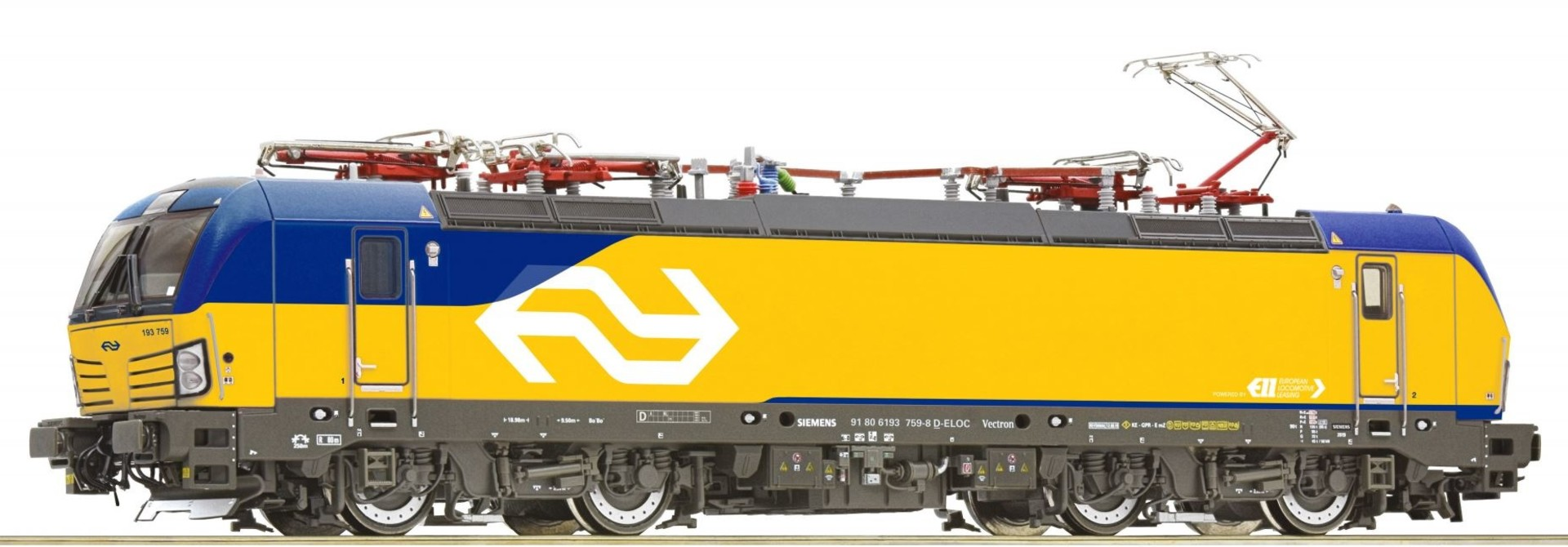 739352 Elektrische locomotief BR193 Vectron van de NS DCC sound