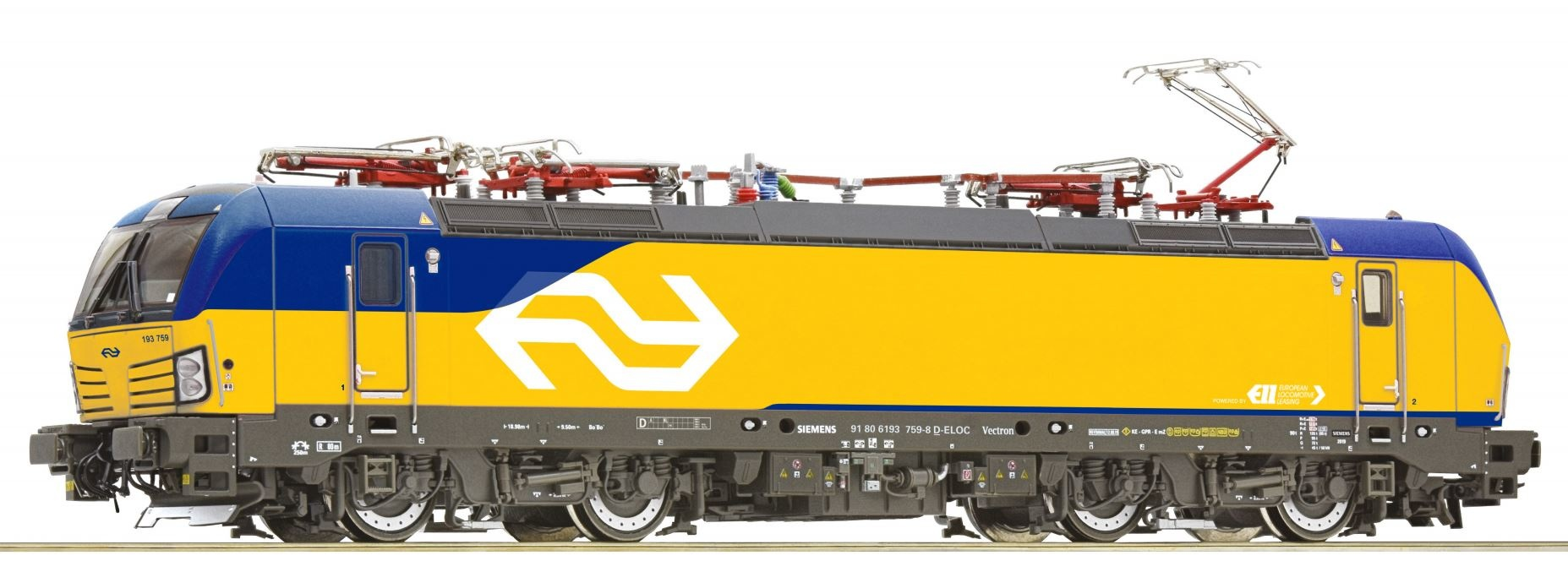 739282 Elektrische locomotief BR193 Vectron van de NS analoog-1