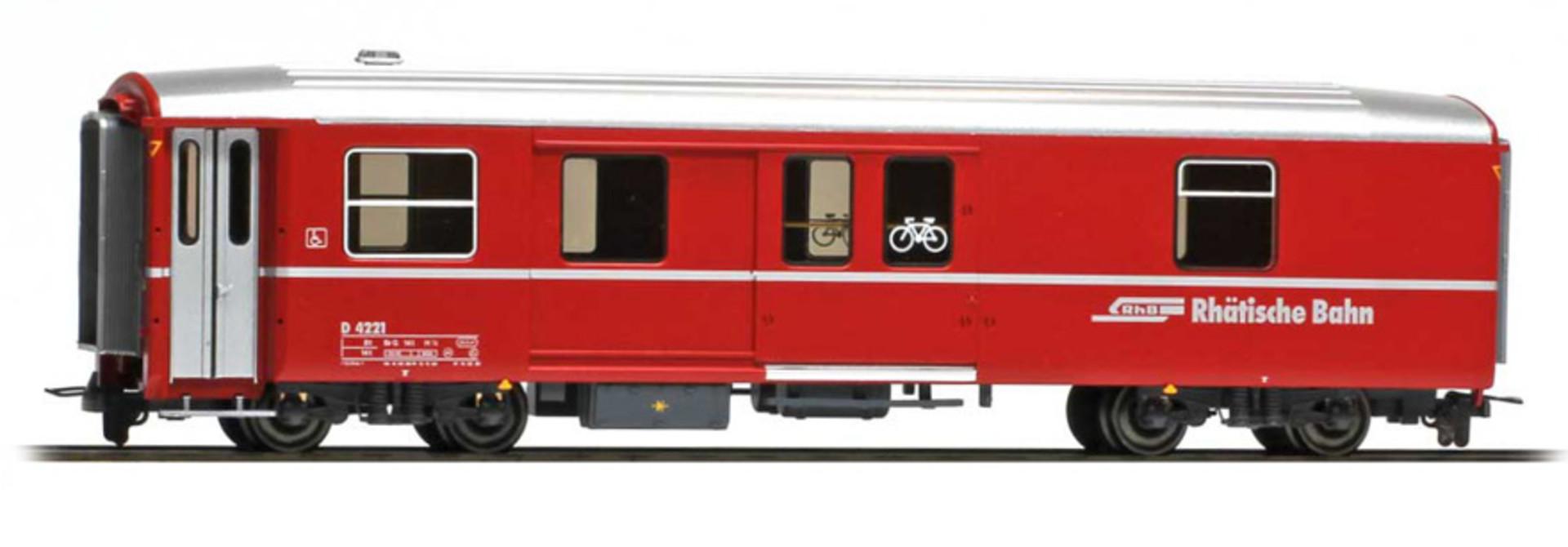 3270131 RhB D 4221 Packwagen