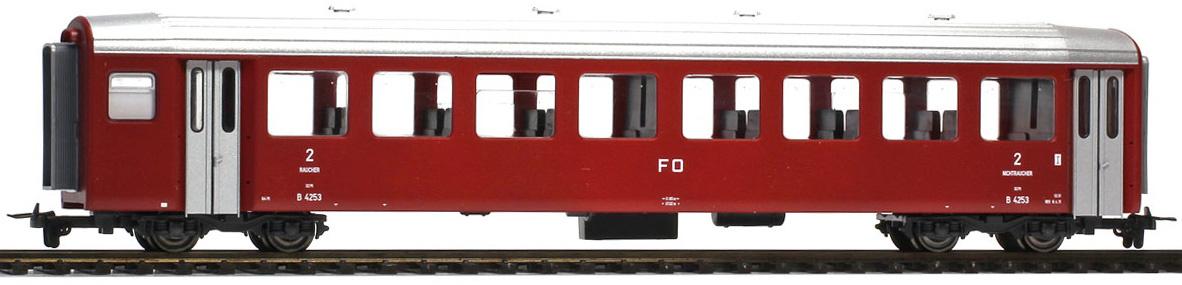 3267204 FO B 4254 Pendelzugwagen dunkelrot-1