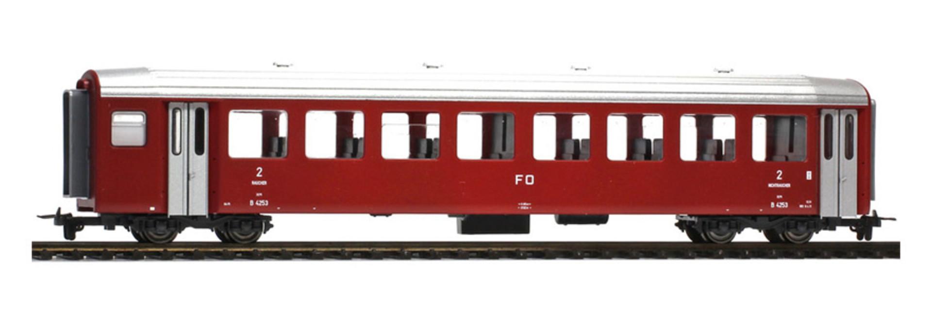 3267203 FO B 4253 Pendelzugwagen dunkelrot