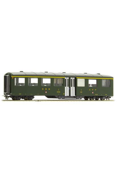 3259411 zb Historic A 181 Mitteleinstiegswagen grün