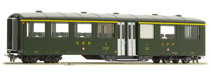 3259411 zb Historic A 181 Mitteleinstiegswagen grün-1