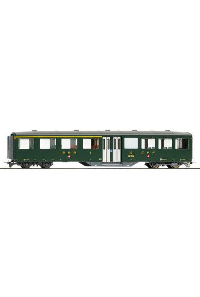 3258413 zb historic AB 473 Mitteleinstiegswagen grün