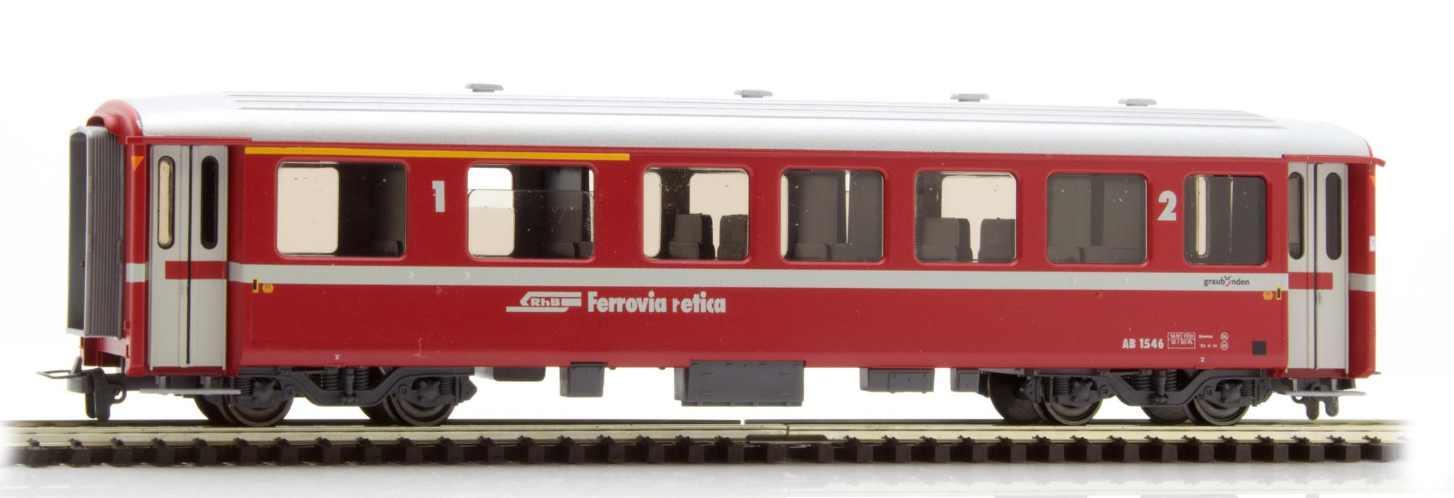 3256166 RhB AB 1546 Einheitswagen I Berninabahn neurot-1