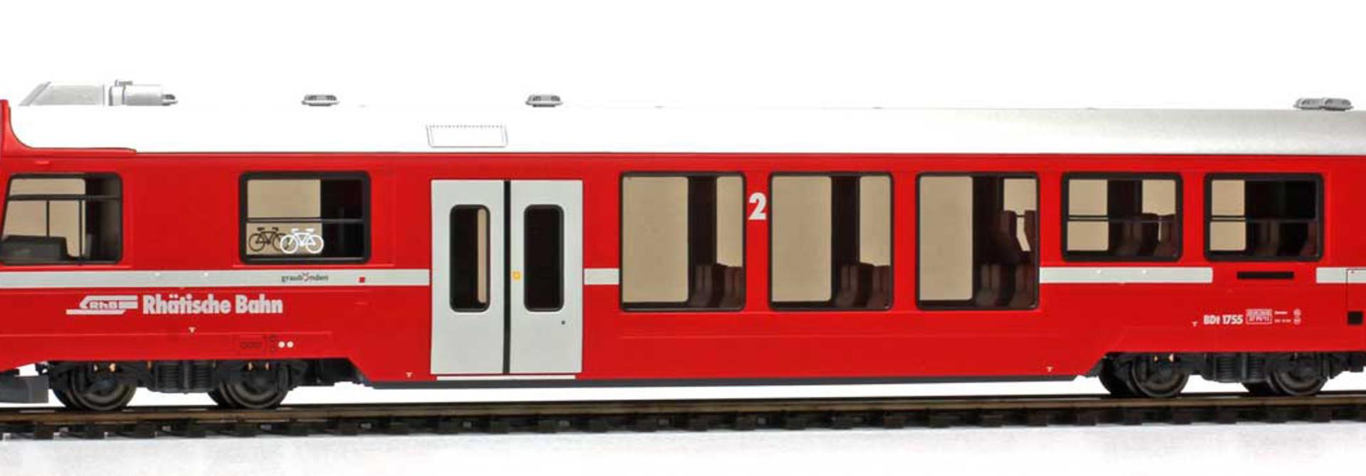3249111 RhB BDt 1751 Steuerwagen NEVA-Retica neurot