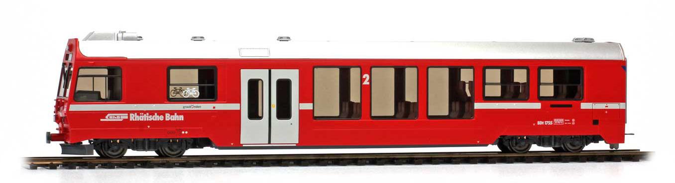 3249111 RhB BDt 1751 Steuerwagen NEVA-Retica neurot-1