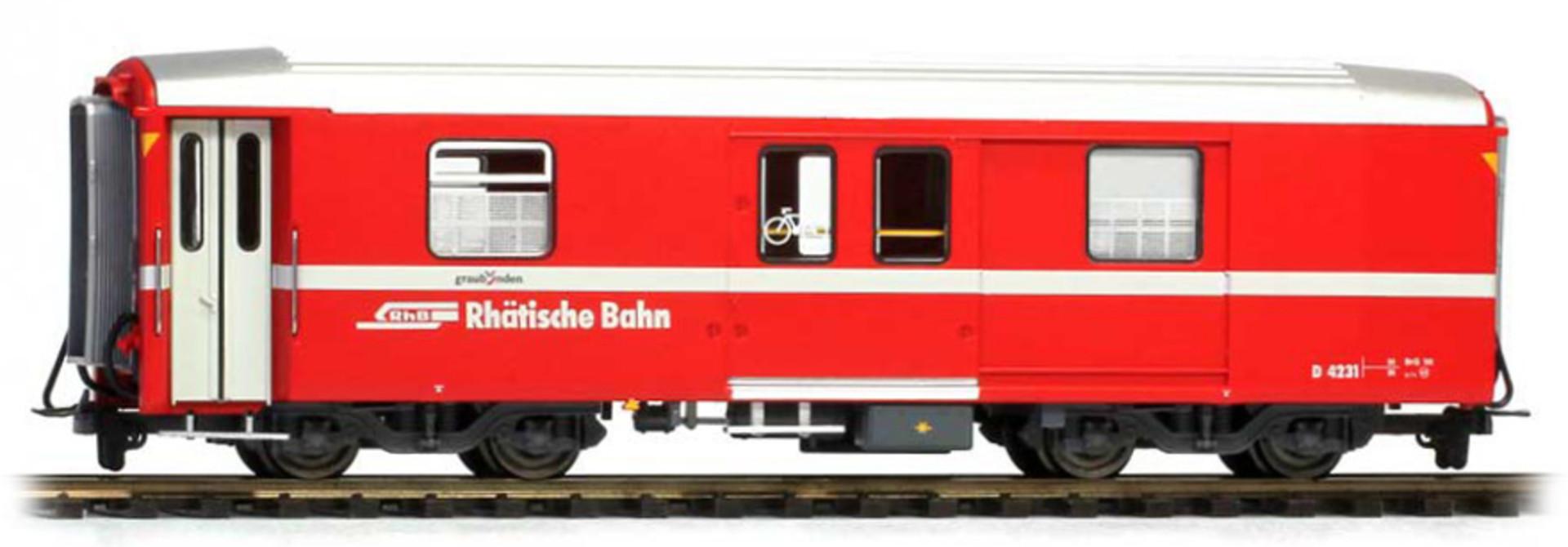 3248163 RhB D 4231 Packwagen neurot
